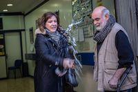 Premiados en la administración 271 de Barcelona donde ha caÁdo Ántegramente el primer premio del Sorteo Extraordinario de El Niño