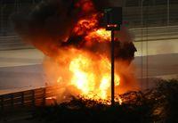 Grosjean salva la vida en Baréin