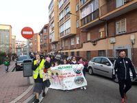 El colegio Nazaret de La Victoria celebra su primera marcha solidaria