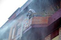 Incendio en una vivienda en la calle de Juan Pacheco