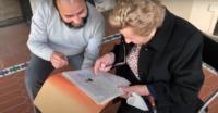 La centenaria Ángela vuelve al Museo del Greco donde trabajó