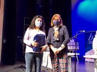 Entrega de premios del concurso 'Diseña un marcapáginas' con motivo del Día del Libro
