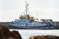 El 'Ángeles Alvariño' regresa a puerto al sufrir una avería