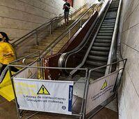 En busca de dinero europeo para las escaleras de la estación