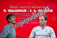 El COVID obliga a suspender el Real Valladolid-Osasuna