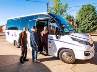 10 usuarios de media por viaje en el bus gratuito a Paredes
