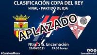 Aplazada la eliminatoria final entre Carrión y Mora