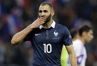 Benzema vuelve con la selección francesa cinco años después