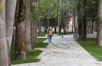 Parque de los Jardinillos, a 13 días de su apertura