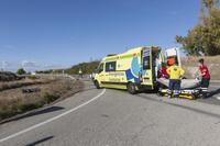 Un bebé de 10 meses, herido en el cruce de Sotragero