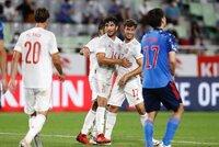 Pedri lidera la reacción de España ante Japón