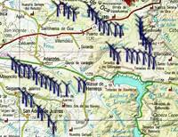 La comarca de Juarros, en guerra contra dos parques eólicos