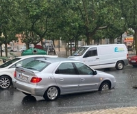 Las tormentas se resisten a abandonar Ávila