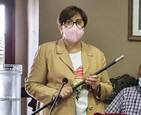 Ana Isabel Gómez, alcaldesa de San Bartolomé de Pinares