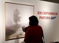 Inauguración de la exposición de la XX edición del Certamen de Pintura Acor de Castilla y León