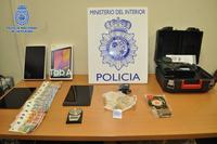 Detenida tras desarticular un punto de venta de droga