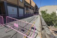 Un tramo de la calle La Fuente lleva cortado desde Filomena