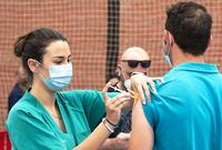 Un brote causa 25 contagios en la residencia de Dueñas