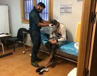 Heridos dos ciclistas en La Pinilla