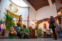 Tradicional besapiés a Nuestro Padre Jesús de Medinaceli
