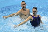 Pau Ribes y Emma García, medalla de plata en el dúo libre