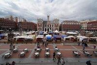 Mercado Castellano en la Plaza Mayor