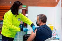 Se inicia la vacunación del personal docente