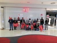 Las trabajadoras de H&M en Cuenca paran contra los cierres
