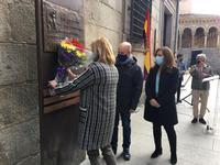 El Ayuntamiento de Segovia rinde homenaje a la II República