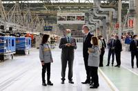 Firma de la alianza estratégica entre Iberdrola y el Grupo Renault