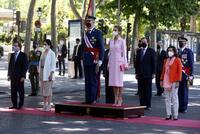Los Reyes presiden en Madrid el Día d...