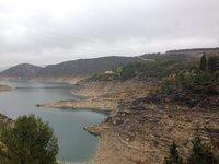 El pantano de Entrepeñas pierde agua a pasos agigantados