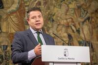 Page propone Almadén para el Consejo de Diálogo Social