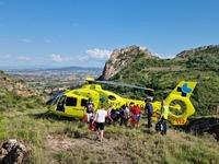 Heridos un bebé en Sotragero y un ciclista en Poza de la Sal