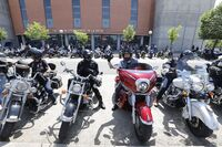300 motos rugiendo por más seguridad en las carreteras