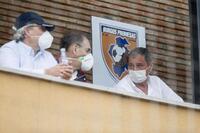 Primera toma de contacto entre el Burgos CF y el Promesas