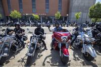 300 motos rugiendo por una mayor seguridad en las carreteras