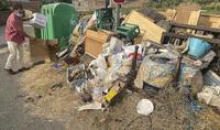 Quintanilla Cabe Rojas sin contenedores de plástico y cartón