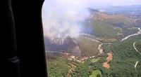 Controlado y en nivel 0 el incendio de Candeleda (Ávila)