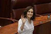 Ayuso, investida presidenta de la Comunidad de Madrid