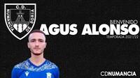 Agus Alonso, refuerzo para el ataque del Numancia