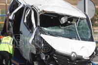 Dos muertos y un herido muy grave en un accidente en la AP-1