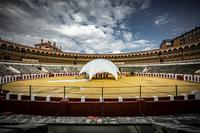 La plaza de toros de Valladolid se transforma en una gran terraza