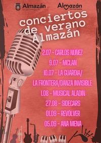 Intensa apuesta musical en Almazán