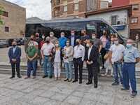 San Leonardo estrena bono gratuito de transporte a demanda