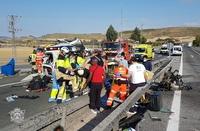 Fatal accidente con dos muertos en la AP-1