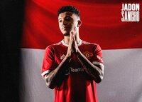 Jadon Sancho firma por el Manchester United