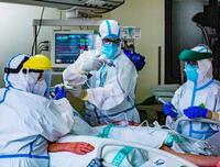 El 75% de los hospitalizados por Covid-19, sin ninguna dosis