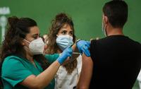 CyL completa la vacunación del 41% de la población prevista