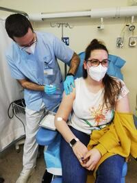 Vacunados el 64% de cuadragenarios en Castilla-La Mancha